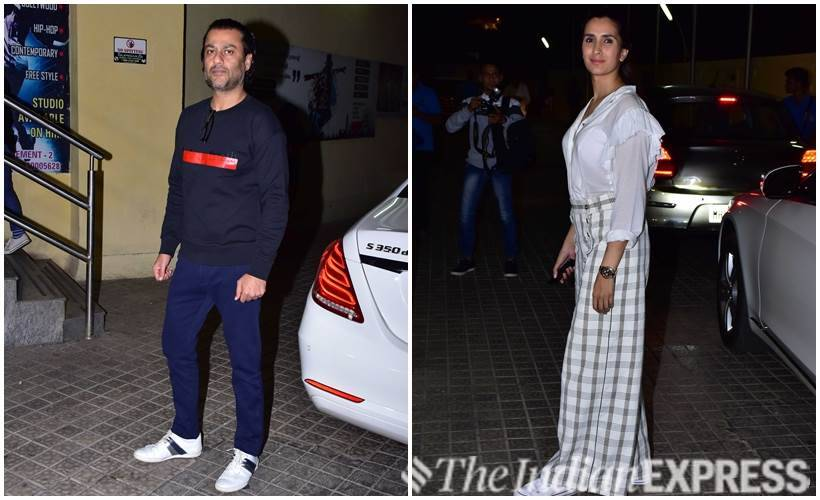 Abhishek Kapoor and his wife Pragya