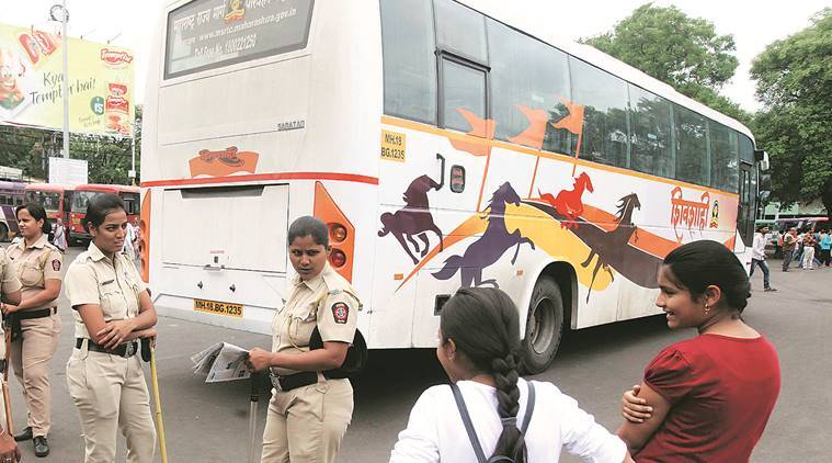 Road accidents, MSRTC, Maharashtra State Road Transport Corporation, Maharashtra, automated driving track test (ADTT), Shahi bus drivers, Indian Express