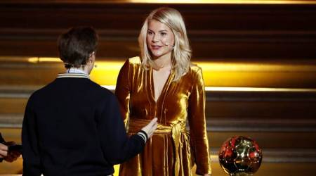 first women to win Ballon d'Or award,Ada Hegerberg win tarnished by 'twerk' request