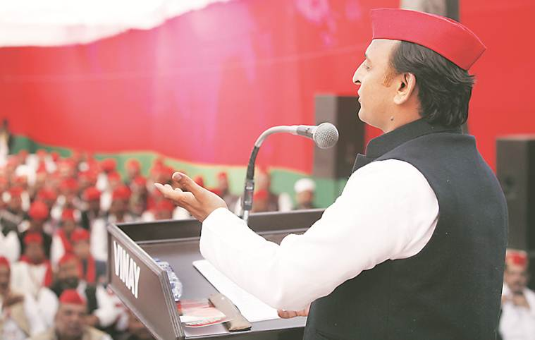akhilesh yadav, congress mahagathbandhan, grand alliance 2019 elections, 2019 elections congress grand alliance, up akhilesh yadav congress, congress sp alliance, bsp sp alliance, rahul gandhi akhilesh yadav, samajwadi party congress, india news, elections news, politics, indian express