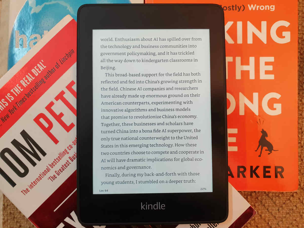 Amazon Kindle Paperwhite (2018) review: A book lover's delight