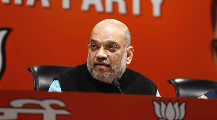 Amit Shah back to Lok Sabha poll preparations, marathon party meet on December 13