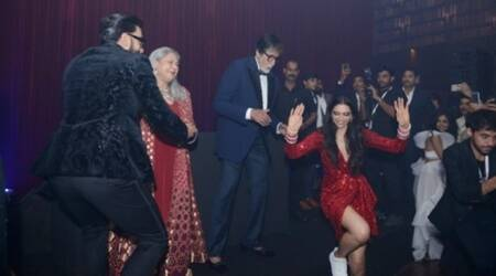 Amitabh Bachchan shares photos from Deepika-Ranveer reception