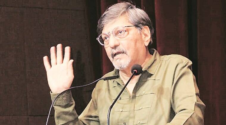 Speech interrupted: Time to confront the govt, say Amol Palekar, Sandhya Gokhale