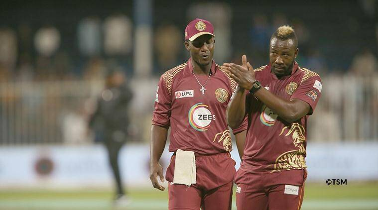 T10, T10 cricket, T10 final, Northern Warriors, Andre Russell, Andre Russell West Indies, Andre Russell Windies, Nicholas Pooran, cricket news, indian express