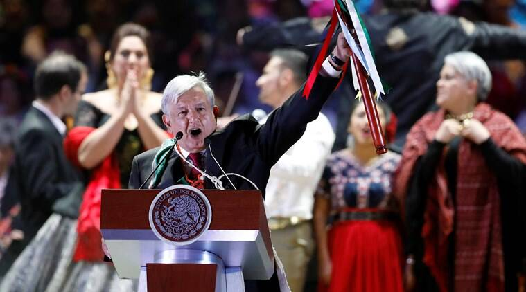 Mexico's new President Obrador vows to end 'rapacious' elite in first speech