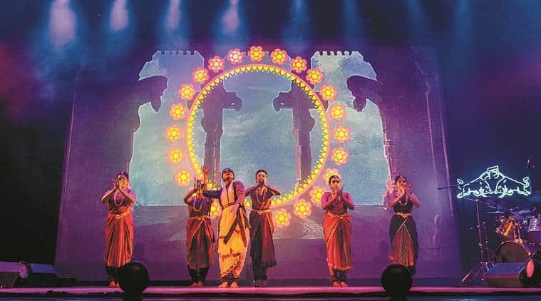 Antariksha Sanchar,Antariksha Sanchar Bharatanatyam,Bharatanatyam Antariksha Sanchar,Bharatanatyam fantasy, Indian Express