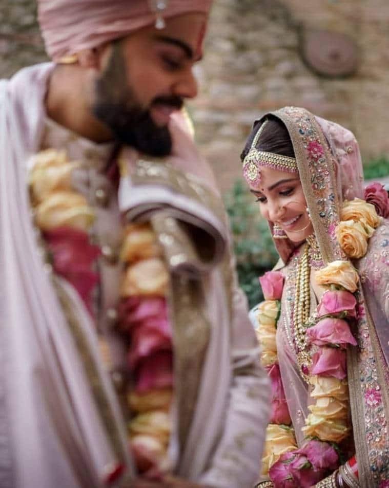 virat anushka anniversary photos