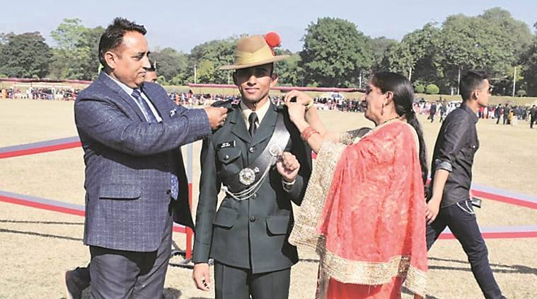 Hamirpur youth wins President Gold Medal & Sword of Honour