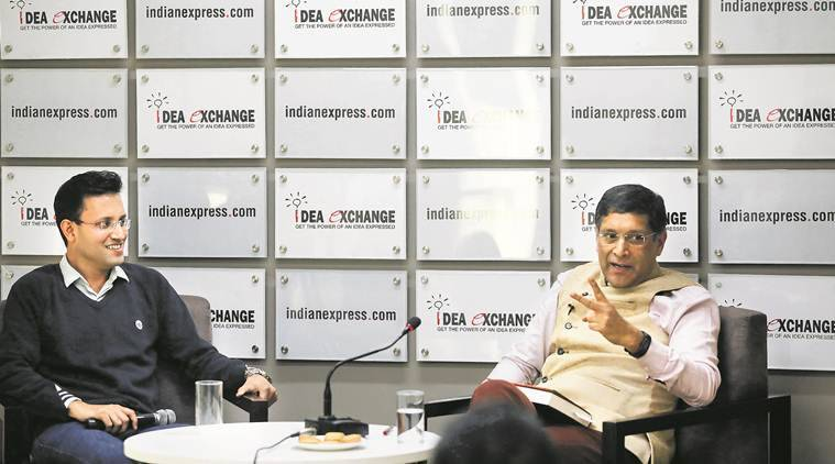arvind subramanian, former chief economic adviser, rbi, demonetisation, gdp, gdp growth, indian economy, indian express