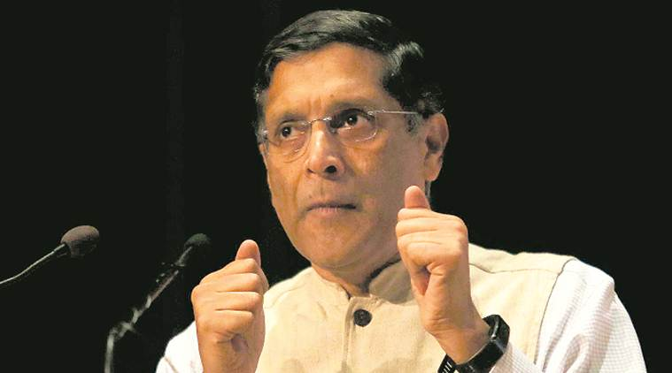 basic income scheme, Arvind Subramanian, Arvind Subramanian on basic income scheme, agrarian distress, universal basic rural income, farmers protests, business news, indian express