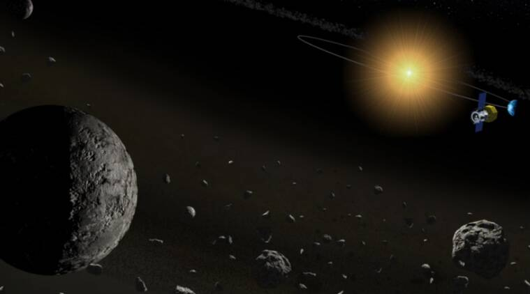 Asteroids with water, Japan Aerospace Exploration Agency, C-type asteroids, Akari asteroid discovery, hydrated asteroids, University of Tokyo, minerals in asteroids, Akari infrared satellite, water ice, infrared cameras, spectroscopic absorption, anhydrous rocks
