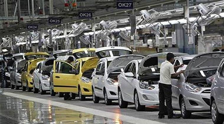 Automobile sales, Automobile sales fall, vehicle sales, vehicle sales in India, India vehicle sales, India GDP, GDP growth, Indian Economy, Business news, Indian Express