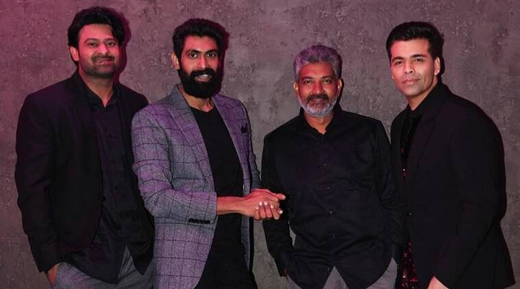koffee with karan baahubali prabhas rana daggubati and ss rajmoulli