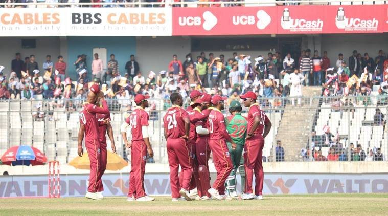 Bangladesh vs West Indies 2nd ODI Live Score