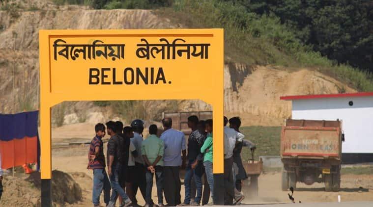Belonia, Belonia train, Belonia railway station, Santirbazaar Belonia route, Train route Belonia, Tripura railways, Indo pak war 1965, 1965 war, Tripura indo pak war 1965, Belonia tripura, north east news, indian express