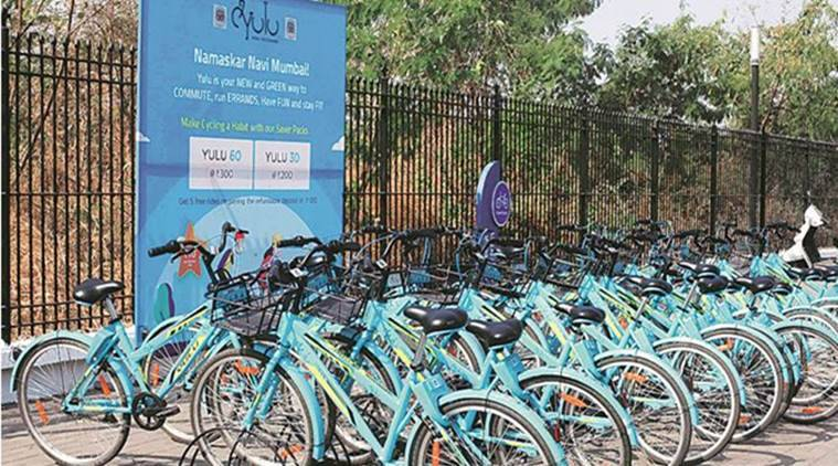 Notes from the Suburbs: NMMC plans to extend bicycle sharing system beyond Nerul