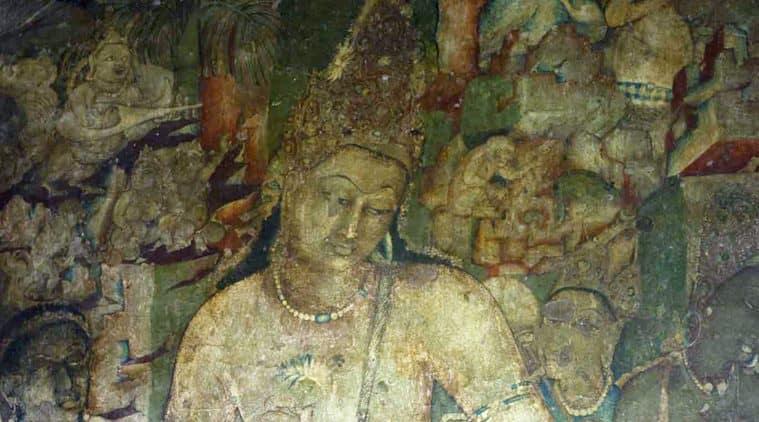 ajanta caves painting