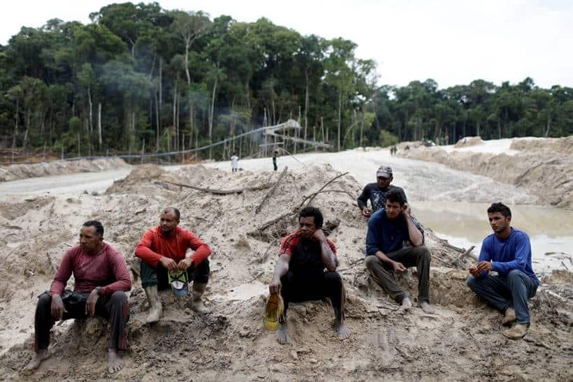Brazil's Amazon rainforest under siege by illegal mines