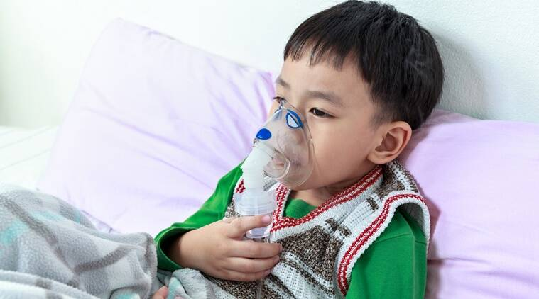 breathing problems in kids, causes of asthma