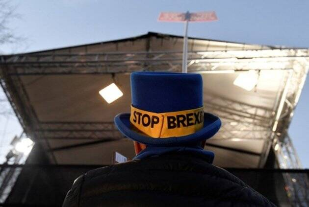 Stop Brexit: One man's daily protest against UK-EU divorce