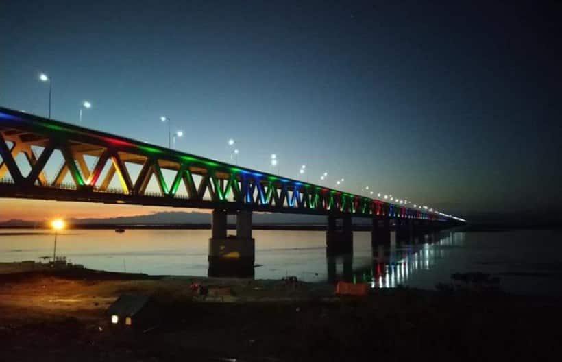 A look at Bogibeel bridge, India's longest rail-road link
