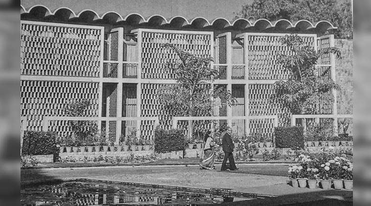 Lodhi Plaza, Delhi, Alliance Française de Delhi, Indian National Trust for Art and Cultural Heritage (INTACH), India International Centre (IIC) Annexe, World Bank Regional Mission, Joseph Allen Stein, Urban Designers India (IUDI), Rajesh Dongre, Meena Mani, indian express, indian express news