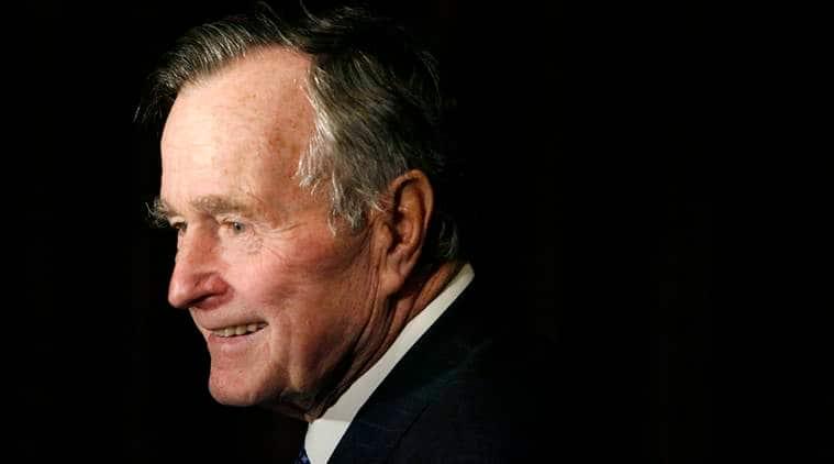 George H W Bush dead