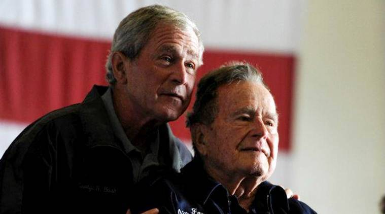 Younger Bush rarely called on elder Bush during presidency