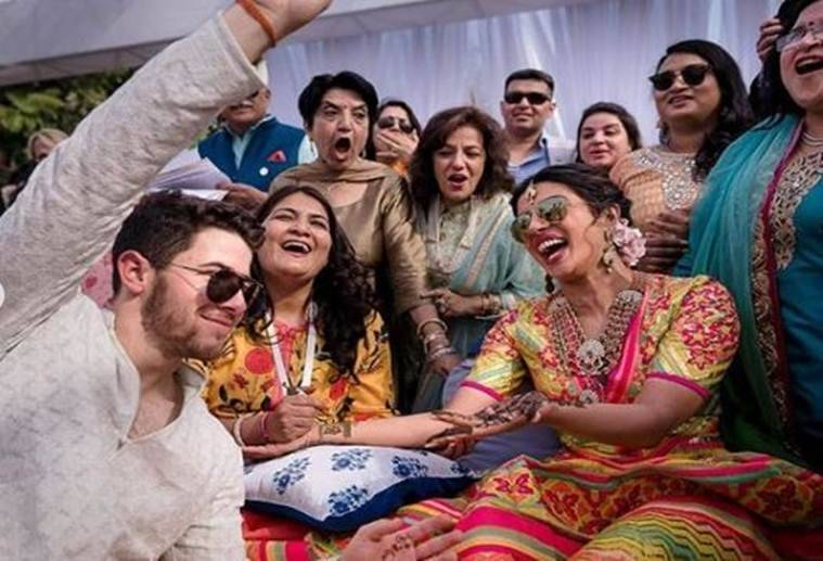 nick jonas priyanka wedding photos