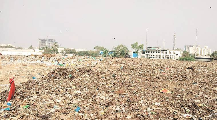 Scientific capping of waste, capping of waste at Pune Cantonment, Pune Cantonment Board, solid waste management, Indian Express