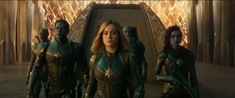 captain marvel kree