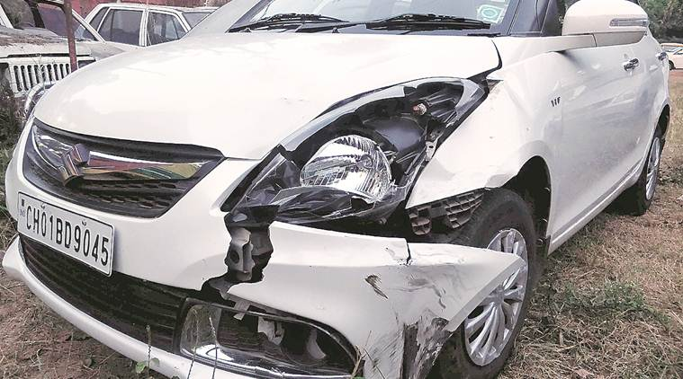 Chandigarh: 24-year-old college student killed as speeding car hits motorcycle