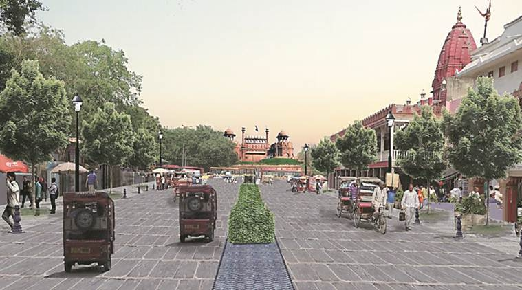 Govt's ambitious Chandni Chowk plan talks of trams, fountains and less traffic