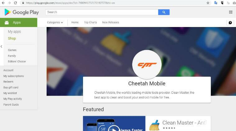 Google Play Store Removes Kika Tech Cheetah Mobiles Apps Over