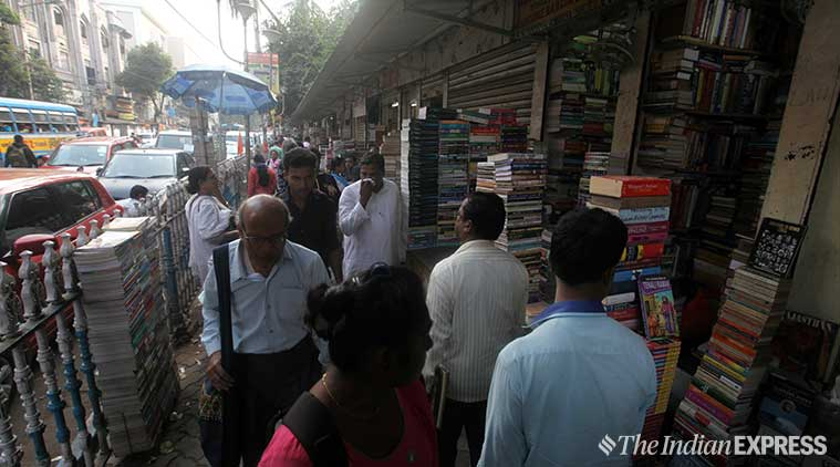 college street, college street kolkata, college street booksellers, booksellers at college street, books at college street, books at college street kolkata, kolkata collgege street, presidency university, presidency university college street, indian express, indian express news