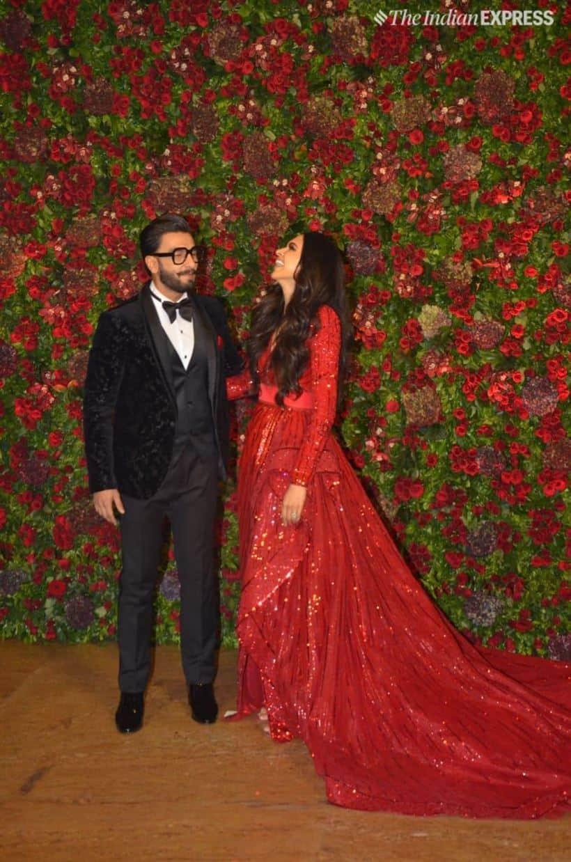 Deepika Padukone-Ranveer Singh reception: The couple takes ...