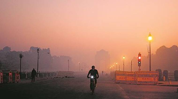 At 4° celsius, Capital sees its coldest morning in four years