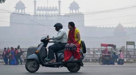 Delhi India air pollution smog