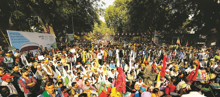 At farmers' protest, Opp targets PM, seeks answers on loan waiver, jobs