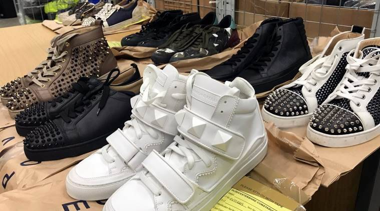 Man arrested for gang violence in UK, police to auction off his designer sneakers