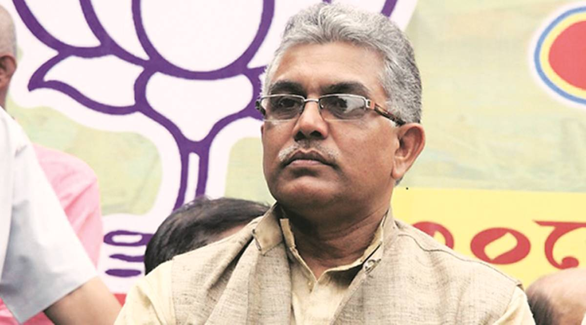 west bengal news, dilip ghosh, dilip ghosh bengal police remark, dilip ghosh controversial remark, bengal bjp, tmc, west bengal assembly elections 2021