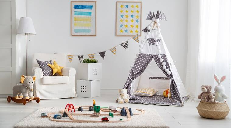 Try These Diy Ideas To Decorate Your Child S Room Parenting News The Indian Express