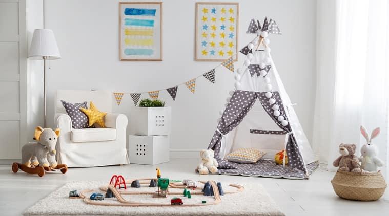 scrapbook decoration for nursery