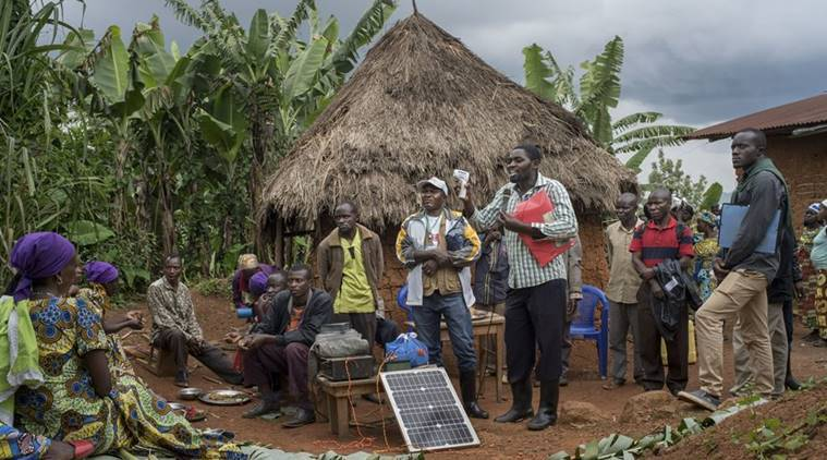 To stop a new Ebola outbreak in Congo, four health workers