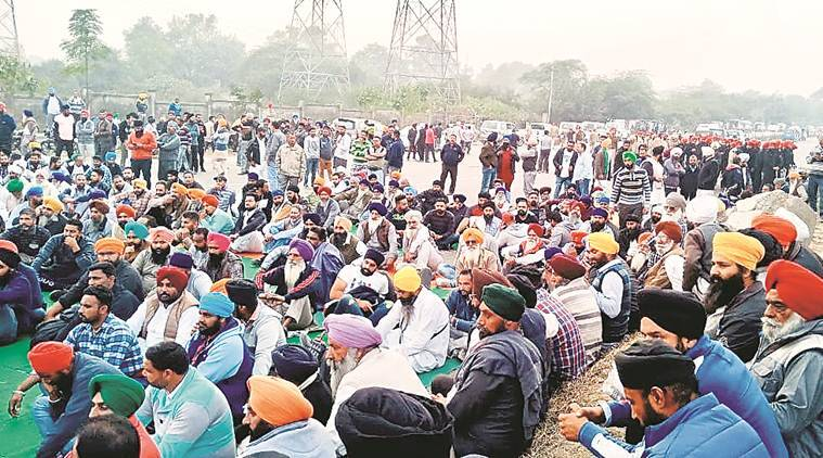 Punjab: Protesting sugarcane farmers block busy National Highway-1