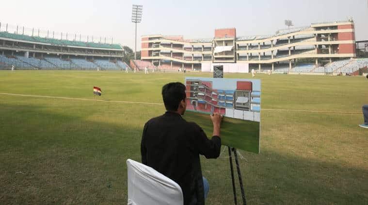 Gautam Gambhir, Gautam Gambhir Ranji, Gautam Gambhir Delhi, Ranji Trophy, Ranji Trophy 2018, Delhi vs Andhra Pradesh, Ranji Trophy news, cricket news, indian express news