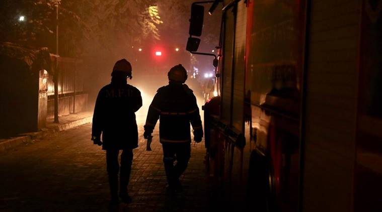 Mumbai: Fire breaks out in Worli's Sadhana House, twelve firefighters suffocated