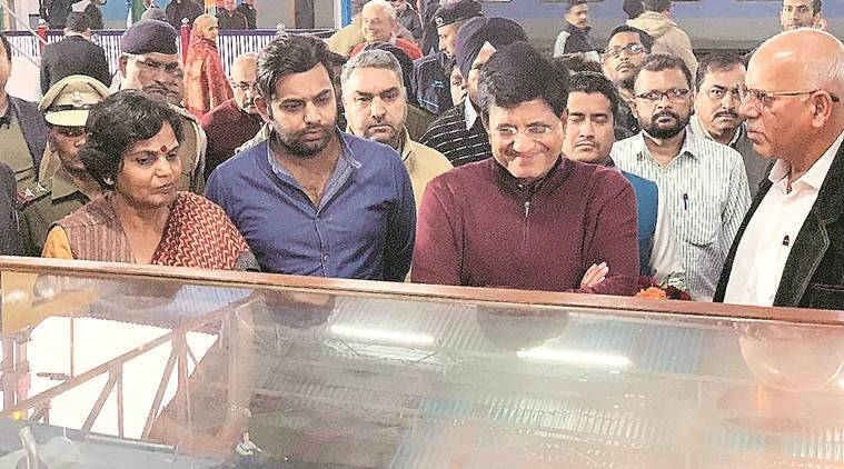Piyush Goyal visits Kalka-Shimla world heritage section