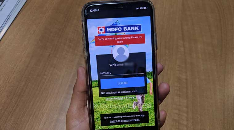 HDFC Bank's new MobileBanking app is still down for most users